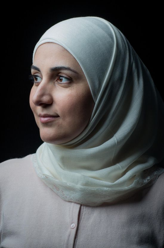 Photo by Martin Thaulow. Portrait of Rawan Abdullah.